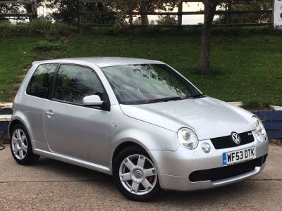 Volkswagen Lupo 1.6 GTi 3dr SERVICE HISTORY Hatchback Petrol Silver at  Richard James Cars Northampton