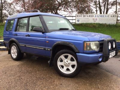 Land Rover Discovery 2.5 Td5 ES 5 seat 5dr Auto 4X4 FULL MOT SERVICE  HISTORY Estate Diesel Blue at  Richard James Cars Northampton